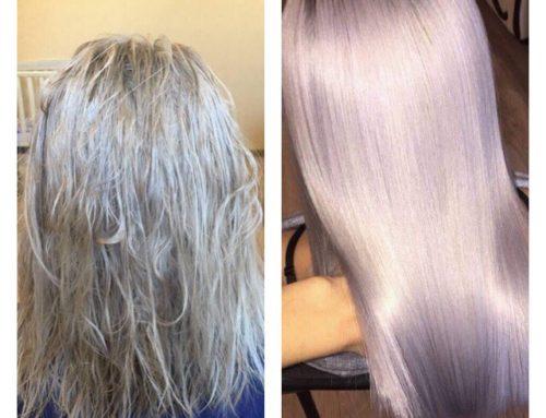 Kapilární léčení vlasů